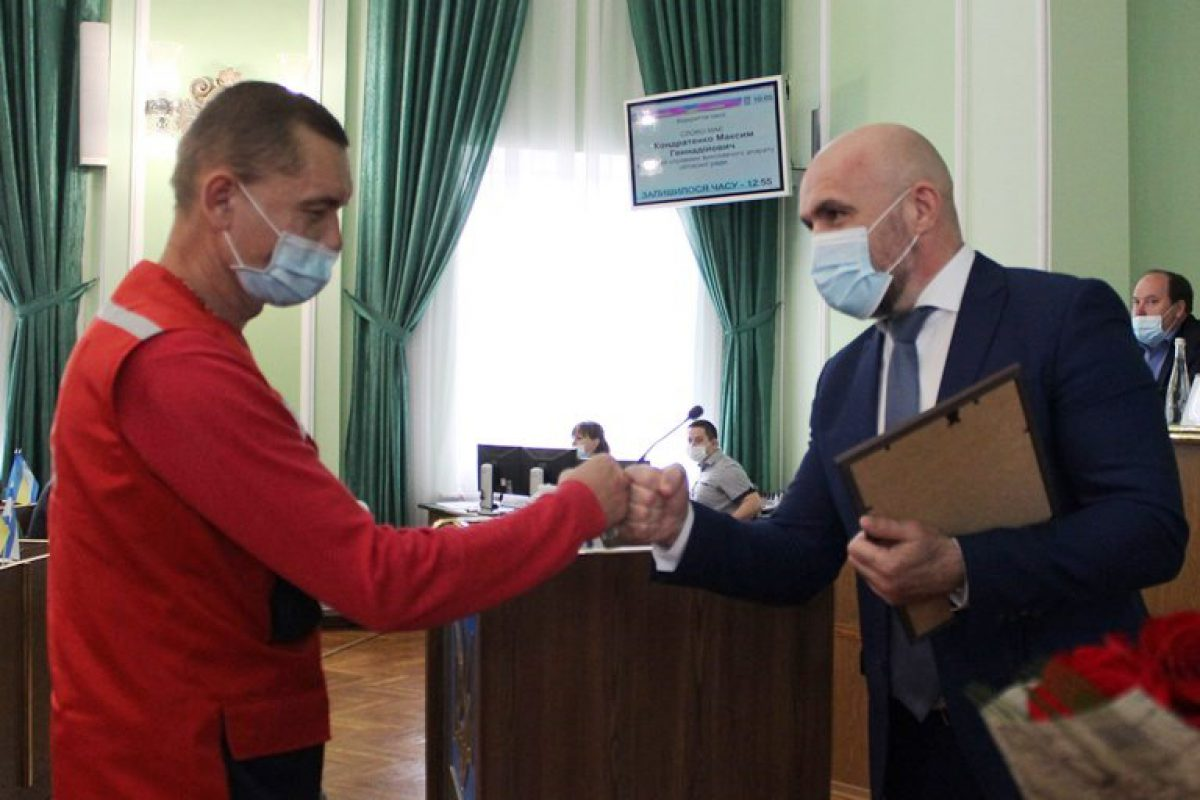 Херсонська обласна рада висловила повагу лікарям та медичним працівникам