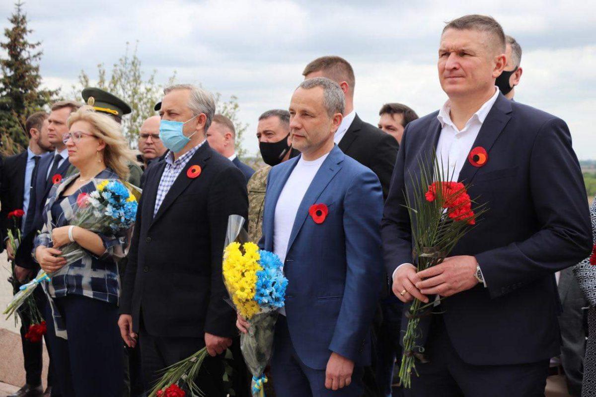 У Херсоні увічнили пам'ять усіх загиблих земляків у Другій світовій війні