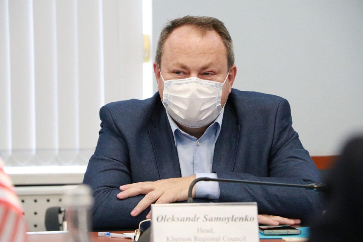 На Херсонщині перебуває з офіційним візитом делегація Посольства США в Україні
