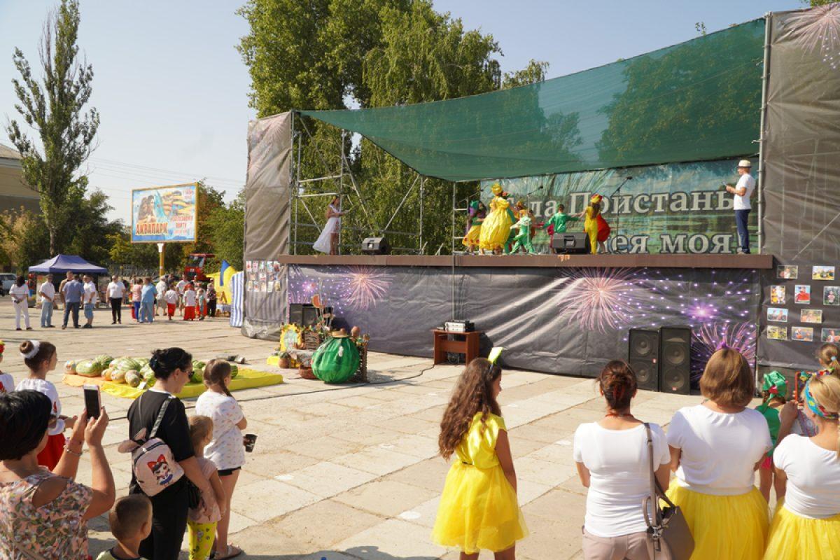У Голій Пристані відбувся кавуновий фестиваль